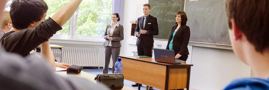 Schulpartnerschaften der Volksbank Niedergrafschaft eG