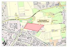 """Neues Baugebiet in Uelsen """"Neuenhauser Straße - B 403"""""""