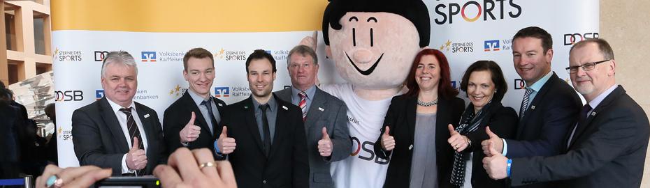 Sterne des Sports - Bundesfinale in Berlin mit mit Fritz Berends Volksbank Niedergrafschaft