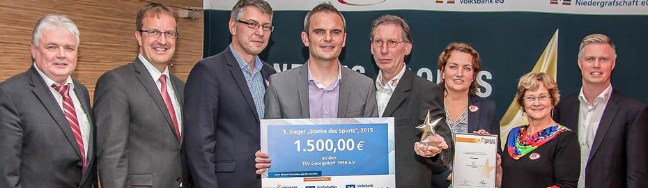 Sterne des Sports: Kreissieger 2015 - TSV Georgsdorf