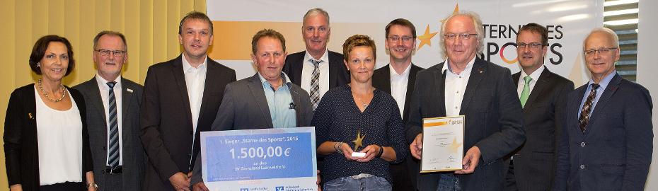Sterne des Sports: Kreissieger 2016 - SV Grenzland Laarwald