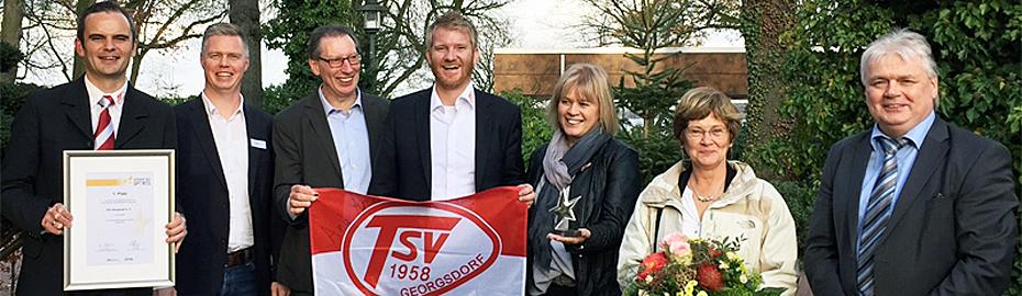 TSV Georgsdorf gewinnt den Silbernen Stern des Sports auf Weser-Ems-Ebene