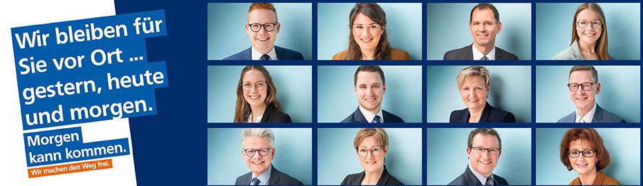 Volksbank Niedergrafschaft mit Geschäftsstellen in Uelsen, Hoogstede, Wilsum, Georgsdorf, Itterbeck und Neugnadenfeld