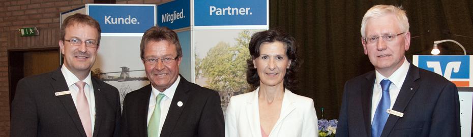 Generalversammlung Volksbank Niedergrafchaft mit Frau Dr. Antonia Rados