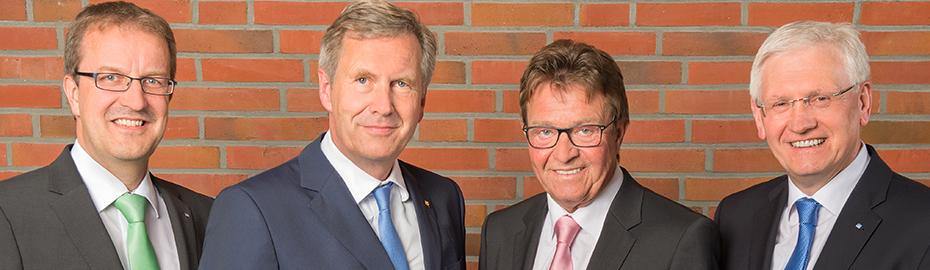 Generalversammlung Volksbank Niedergrafchaft mit Christian Wulff